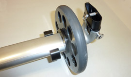 Whoosh Wheels for BaseTube - for North Wing Hang Gliders