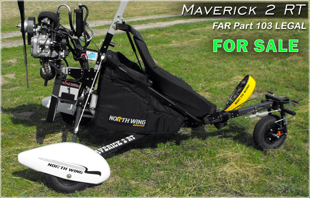 North Wing Maverick 2 RT Ultralight Trike For Sale