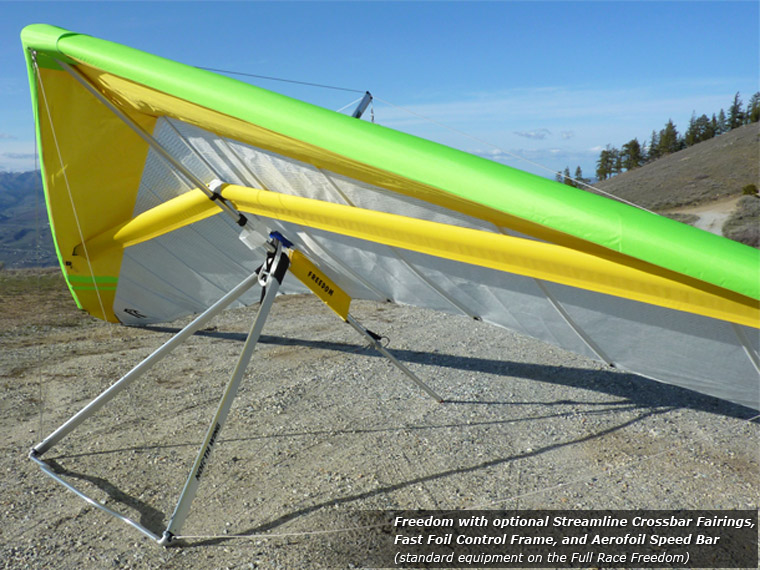 Freedom Hang Glider · North Wing · phone 509 682 4359