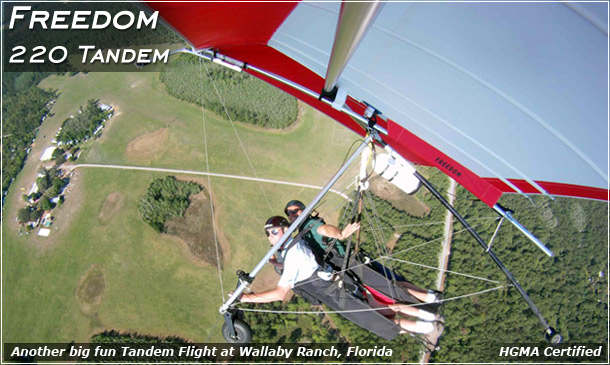 Freedom 220 Tandem Hang Glider North Wing Phone 509 682 4359