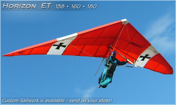 horizon hang glider north wing design phone 509 682 4359
