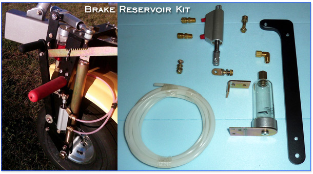 North Wing Brake Reservoir Kit