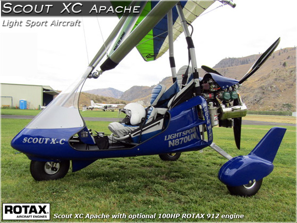 North Wing Scout XC Apache Light Sport Aircraft · Photo Gallery