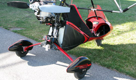 Maverick 2 Legend - 1-place, 2-stroke trike with fairing