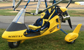 Scout XC Apache - Light Sport Aircraft with fairing