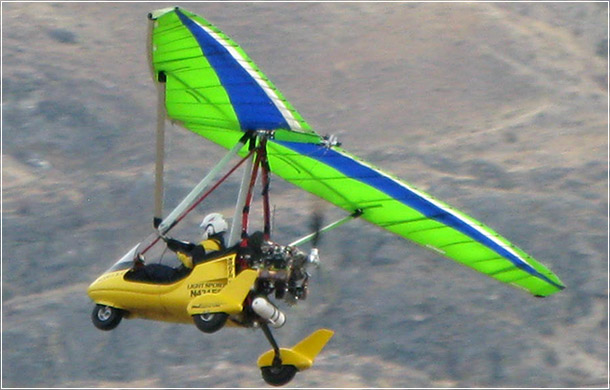 North Wing · Conquest 12.M & 13.6M weight shift control Light Sport Aircraft Wing
