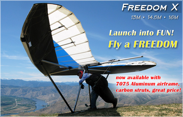 North Wing · Freedom X - Hang Glider