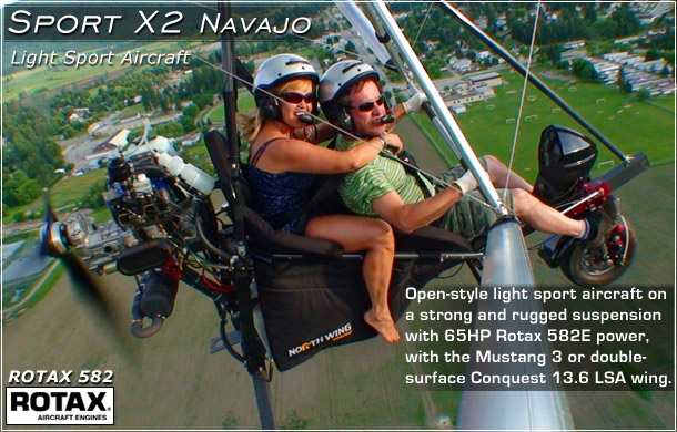 North Wing 183 Quality Light Sport Aircraft Weight Shift