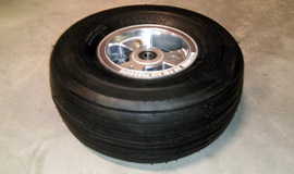 Turf Tires with Aluminum Rims for the North Wing Maverick 2 RT ultralight trike