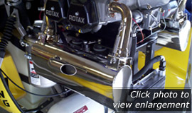 Ultra-Quiet Stainless Steel Exhaust for Rotax 912 engines