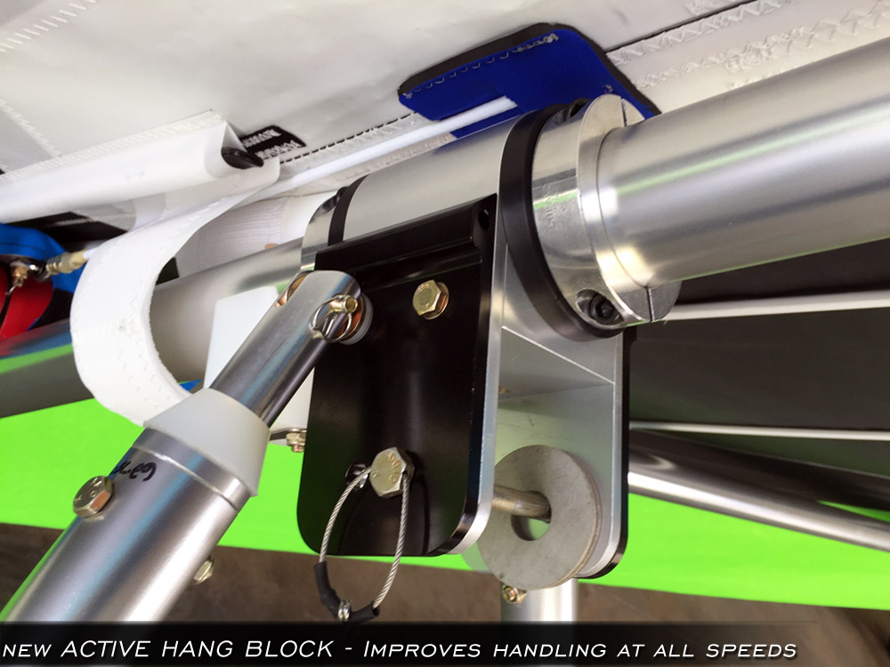 North Wing - Active Hang Block improves handling even more!
