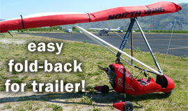 Click here to view a video of folding the Solairus Wing for the trailer